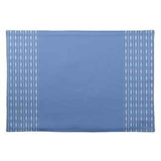 cute blue pattern design mojo_placemat
