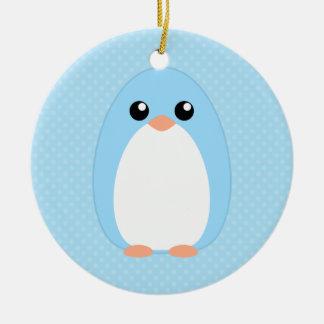 Cute Blue Penguin Christmas Tree Ornaments