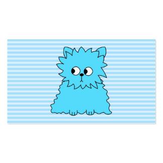 Cute Blue Persian Cat. Business Card