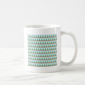 Cute Blue Sailboat Design for Boys Coffee Mugs