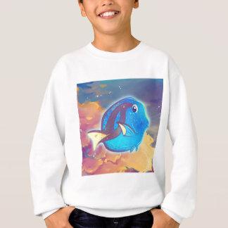 Cute Blue Tang Fish Sweatshirt