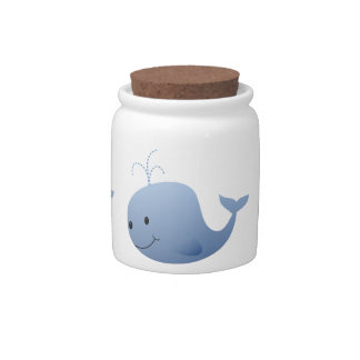 Cute Blue Whale Candy Dishes