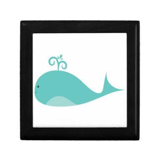 Cute Blue Whale Gift Box