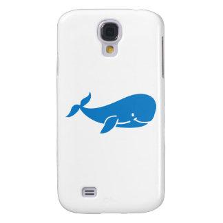 Cute blue whale samsung s4 case