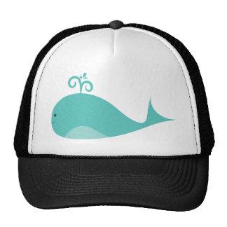 Cute Blue Whale Trucker Hat