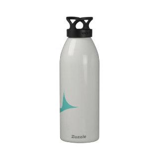 Cute Blue Whale Water Bottle
