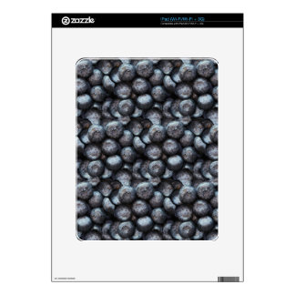 Cute Blueberry Fruit Pattern Decal For The iPad