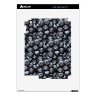 Cute Blueberry Fruit Pattern iPad 2 Skin