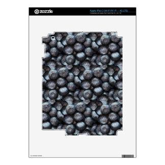 Cute Blueberry Fruit Pattern iPad 3 Skin