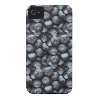 Cute Blueberry Fruit Pattern iPhone 4 Cover