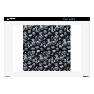 Cute Blueberry Fruit Pattern Laptop Decal