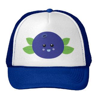 Cute Blueberry Mesh Hat