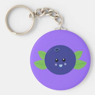 Cute Blueberry Keychain