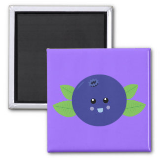 Cute Blueberry Magnet