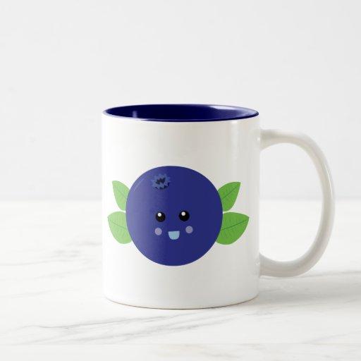 Cute Blueberry Mugs