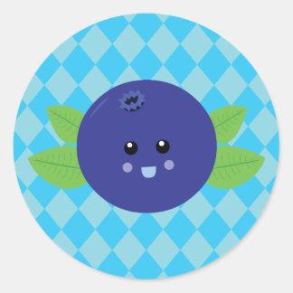 Cute Blueberry Sticker