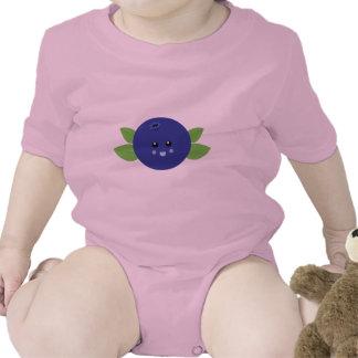 Cute Blueberry Romper