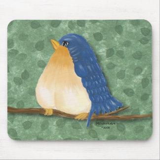 Cute Bluebird Mousepad