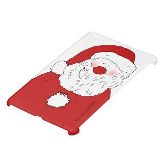 Cute Blushing Santa iPad Mini Cases