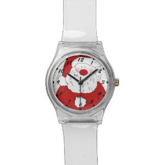 Cute Blushing Santa Wristwatch