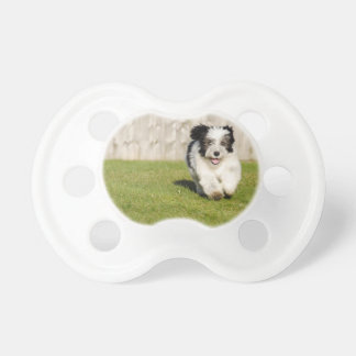 Cute Bobtail Sheepdog Pacifier