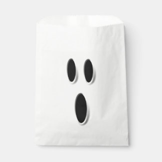 Cute Boo Ghost Halloween Party Trick Or Treat Favor Bag