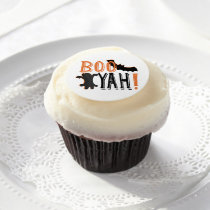 cute booyah halloween edible frosting rounds