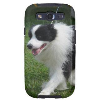 Cute Border Collie Puppy Samsung Galaxy SIII Cover