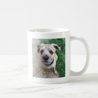 Cute border terrier coffee mug