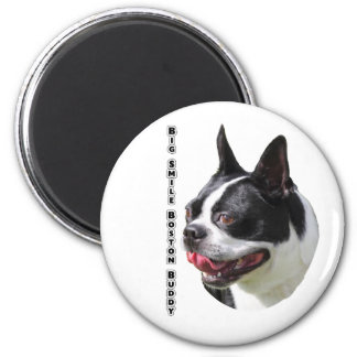 Cute Boston Bull Terrier Multi Products Selected Magnet