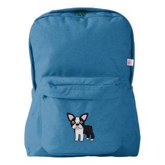 Cute Boston Terrier Backpack