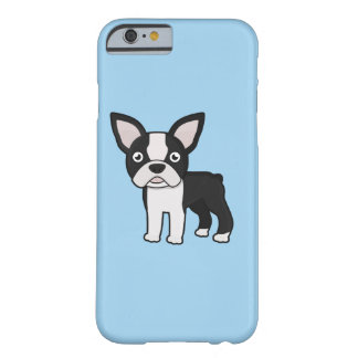 Cute Boston Terrier Barely There iPhone 6 Case