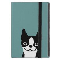 Cute Boston Terrier - Color Customizable iPad Mini Cover
