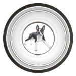 Cute Boston Terrier Dog Pet Food Bowl Pet Bowl
