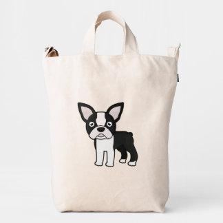 Cute Boston Terrier Duck Bag