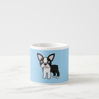 Cute Boston Terrier Espresso Cup