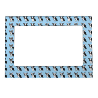 Cute Boston Terrier Magnetic Photo Frame
