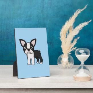 Cute Boston Terrier Plaque