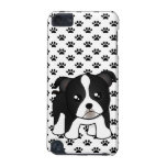 Cute Boston Terrier Puppy Dog Cartoon Animal iPod Touch 5G Covers