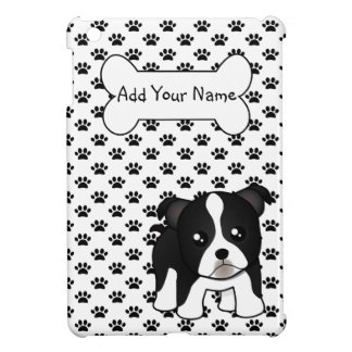 Cute Boston Terrier Puppy Dog Cartoon Animal Case For The iPad Mini