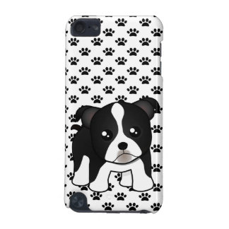 Cute Boston Terrier Puppy Dog Cartoon Animal iPod Touch 5G Cover