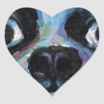 Cute Boston Terrier puppy dog portrait products Stickers