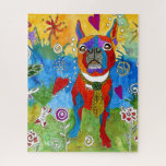 Cute Boston Terrier Puzzle - 520 Pieces