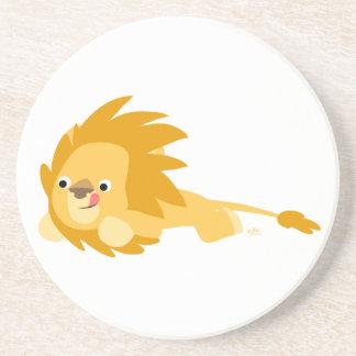 Cute Bouncy Cartoon Lion Coaster