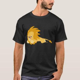 Cute Bouncy Cartoon Lion T-Shirt