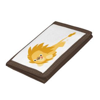 Cute Bouncy Cartoon Lion Wallet