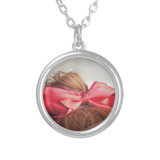 Cute Bow Personalised Necklace
