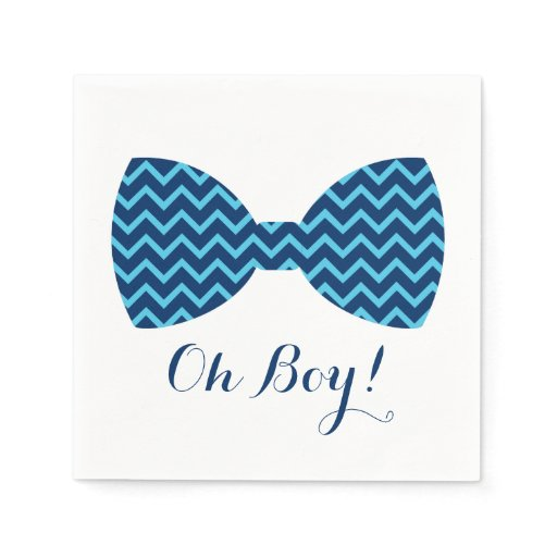 Cute Bow Tie Paper Napkins