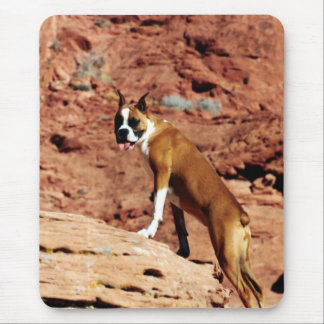 Cute Boxer Dog 1 Mouse Pad