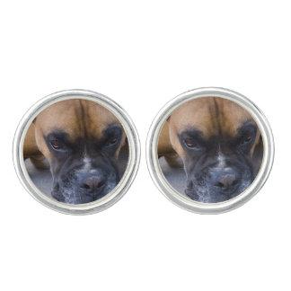 Cute Boxer Dog Cufflinks